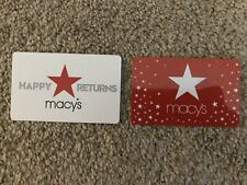 $119.05 Macy's Gift Cards Certificates In Store Online Cash