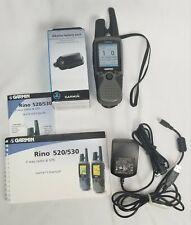 Garmin Rino 530 Handheld Navigator 2 Way Radio w/2 Batteries