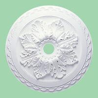 Large Beautiful Ornate white CEILING ROSE Home Decor Plaster Medallion 60CM CR6