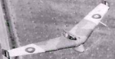 Baynes Bat Experimental Glider Aircraft Mahogany Wood Model Replica Large