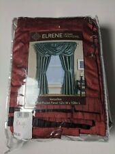 "Erlene Home Fashions All Seasons ROUGE Rusty Red 52"" x 108"" Single Panel"