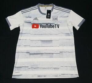 Adidas Mens MLS LAFC Football Club 20/21 Away Jersey GE5944 YoutubeTV