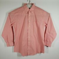 Brooks Brothers Mens Dress Shirt Buttons Long Sleeve 100% Cotton Size 16.5/34