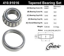 Wheel Bearing and Race Set-FWD Centric 410.91016E