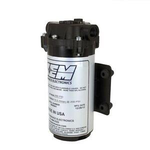 AEM 30-3018 Water/Methanol Injection 200psi Recirculation Pump 3/8 NPT Fittings