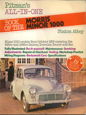 Morris Minor 1000 from 1956 Pitman's All-In-One Book Pub. 1977
