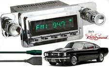 RetroSound 64-66 Mustang Hermosa-C Radio/Bluetooth/RDS/USB/3.5mm AUX-In 4 ipod