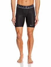 "Nike Mens Pro 6"" Hypercool Compression Shorts Navy/Dark Grey Small S NWT"