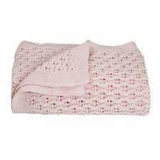 Living Textiles Baby Shawl Blush