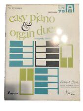 Easy Piano & Organ Duets