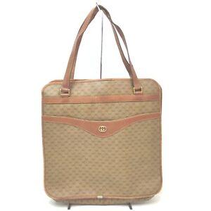 Gucci Tote Bag Micro GG  Browns PVC 841227