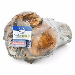 Barkworthies Dog Knuckle Bone Shrink Wrapped  Free shipping