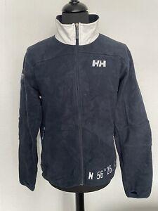 Mens Navy Helly Hansen Full Zip Fleece Size Large