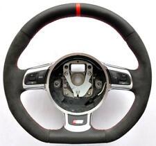 2000-2018 Audi S Line ALCANTARA A3 A4 A5 Q5 Q7 A6 TT A8 R8 S4 S5 steering wheel