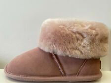 Just Sheepskin Albery Ladies Slippers UK 7-8 EUR 40-42 REF M1129~