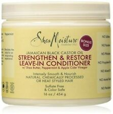 Shea Moisture Jamaican Black Castor Oil Strengthen/Grow and Restore Leave-In 16o