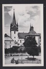 POLAND 19(?) CHURCH IN NOWY-SACZ REAL PHOTO POSTCARD UNUSED