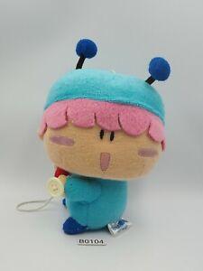 "Mirumo Mirmo Murumo B0104 Hands Button Plush 6"" Stuffed Toy Doll Japan"