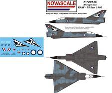 RAAF Mirage IIIo Mini-Set Decals 1/72 Scale N72053b