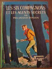 Bonzon: les six compagnons et les agents secrets / Hachette Bibliothèque Verte