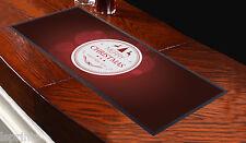 Runner rosso da tavolo Merry Christmas And A Happy New Year, da bar, per feste