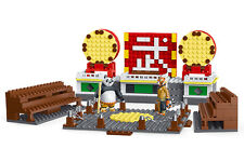 Kung Fu Panda Tournament Grounds Block Brick Toy (379 Pcs) - Star Diamond #80319