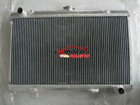 3 Row 52mm All Aluminum Radiator For 1989-1994 Nissan silvia S13 SR20DET 90 91