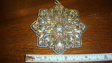 Towle Sterling Silver 1994 Snowflake Christmas Ornament - 2 available