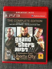 Grand Theft Auto IV The Complete Edition Liberty City Playstation 3 Tested Game