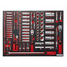 """Sealey Tools TBTP02 Tool Tray with Socket Set 91pc 1/4"""" 3/8"""" 1/2"""" Drive"""