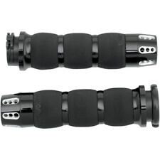 Gatlin Air Cushioned by Avon Grips Black Dual Cable AIR-90-ANO-GAT Harley Dyna