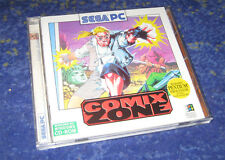 Sega PC Comix Zone con manual culto rareza 1995 Jump and run clásico