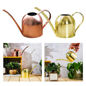 500ml Stainless Steel Watering Can Pot Indoor Garden Plants Long Spout