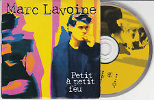 CD CARTONNE CARDSLEEVE PICTURE MARC LAVOINE PETIT A PETIT FEU 2T DE 1997 RARE !