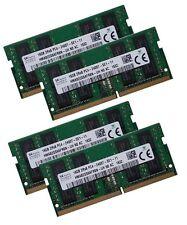 4x 16GB 64GB DDR4 2400 Mhz Apple iMac 19,1 5K Mid 2017 Speicher SO DIMM 260 pin