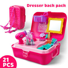 Pretend Play Set Hair Dryer Makeup Toy Set Beauty Fashion For Girls UK STOCK