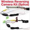 Wireless Car Reversing Camera Kit Reverse Parking Rear Backup View Splice OZ