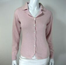 Take Out Long Sleeve Cardigan Sweater Size M, Pink
