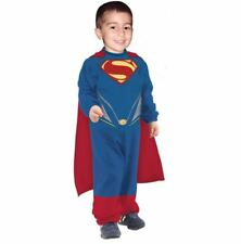 Rubies Deluxe Superman Toddler Infant Halloween Cape Fancy Dress Costume Outfit