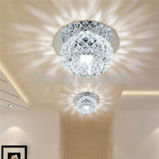 Modern Crystal 5W LED Ceiling Light Fixture Pendant Lamp Lighting Chandelier 5W