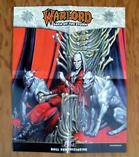WARLORD Saga of the Storm AEG RPG Promotional Poster 2000 Promo