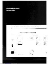 Harman Kardon HK680I Receiver Owners Manual