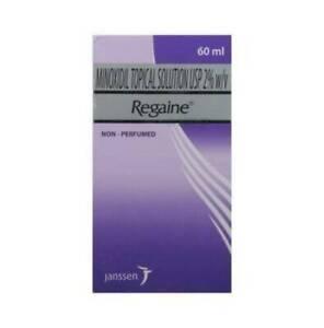 Regaine Minoxidil 2% Solution (60 ml) -Free Shipping worldwide