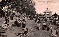 POSTCARD  ESSEX   WESTCLIFF  ON  SEA   Bandstand  and  Promenade