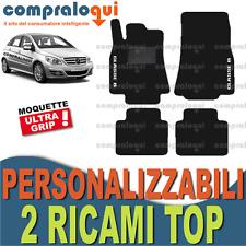 PER MERCEDES BENZ CLASSE B W245 TAPPETINI PER AUTO SU MISURA + 2 RICAMI TOP