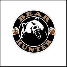 Bear Hunter Color Deer Hunting  Car Window Laptop Decal