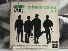 I GUFI - MILANO CANTA N. 1 LP G / EX STAMPA 1965 LAMINATA