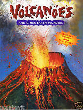 VOLCANOES, EARTHQUAKES & OTHER EARTH WONDERS Activity and Facts Workbook Age 6-9