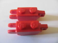 LEGO 30386 @@ Hinge 1 & 2 Fingers Vertical - Red x 2 - 4101 6423 9650 60161