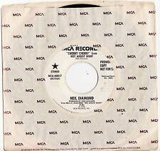 NEIL DIAMOND - CHERRY CHERRY (Live)  Megarare 1972 US PROMO Single Release!